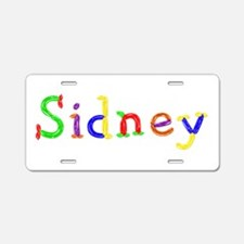 Sidney Balloons Aluminum License Plate