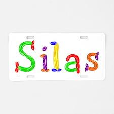 Silas Balloons Aluminum License Plate