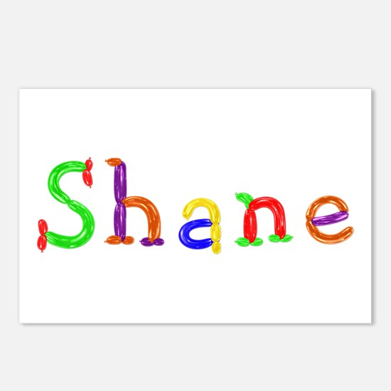 Shane Balloons Postcards 8 Pack