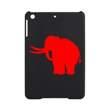 Woolly Mammoth Silhouette (Red) iPad Mini Case