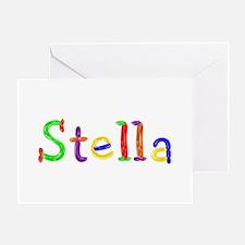 Stella Balloons Greeting Card