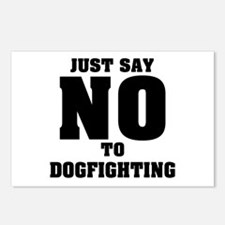 Say No to Dogfighting Postcards (Package of 8)
