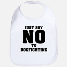 Say No to Dogfighting Bib