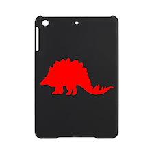 Stegosaurus Silhouette (Red) iPad Mini Case