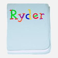 Ryder Balloons baby blanket