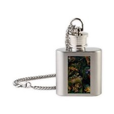 Cute Frog Flask Necklace