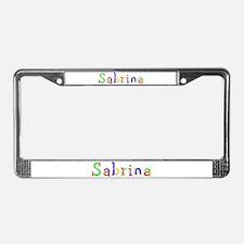 Sabrina Balloons License Plate Frame