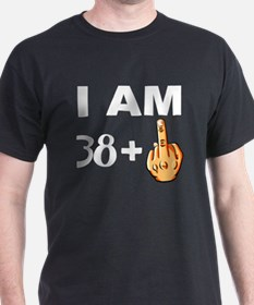 Middle Finger 39th Birthday T-Shirt