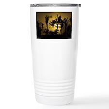 Sunset in Tropics Travel Mug