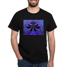 Lacey Blue Fractal T-Shirt