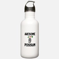 Awesome Possum Water Bottle