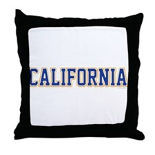 Cute Fresno california Throw Pillow