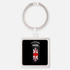 LONDON Professional Photo Square Keychain