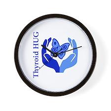 Thyroid HUG Wall Clock