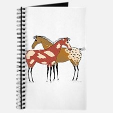 Two Horse Appaloosa & Paint Design Journal
