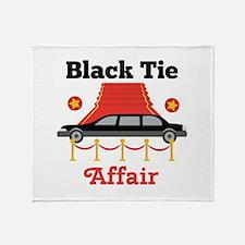 Black Tie Affair Throw Blanket
