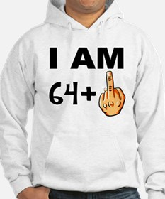 Middle Finger 65th Birthday Hoodie