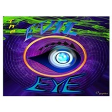 The Evil Eye Canvas Art