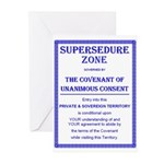 Supersedure Zone-1 Greeting Cards (Pk of 20)