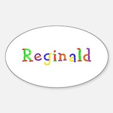 Reginald Balloons Oval Decal