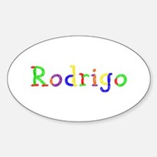Rodrigo Balloons Oval Decal
