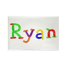 Ryan Balloons Rectangle Magnet