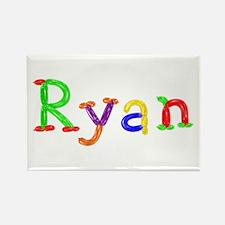 Ryan Balloons Rectangle Magnet