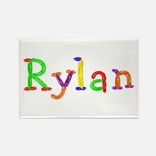 Rylan Balloons Rectangle Magnet