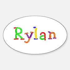 Rylan Balloons Oval Decal