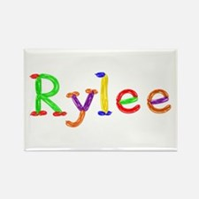 Rylee Balloons Rectangle Magnet