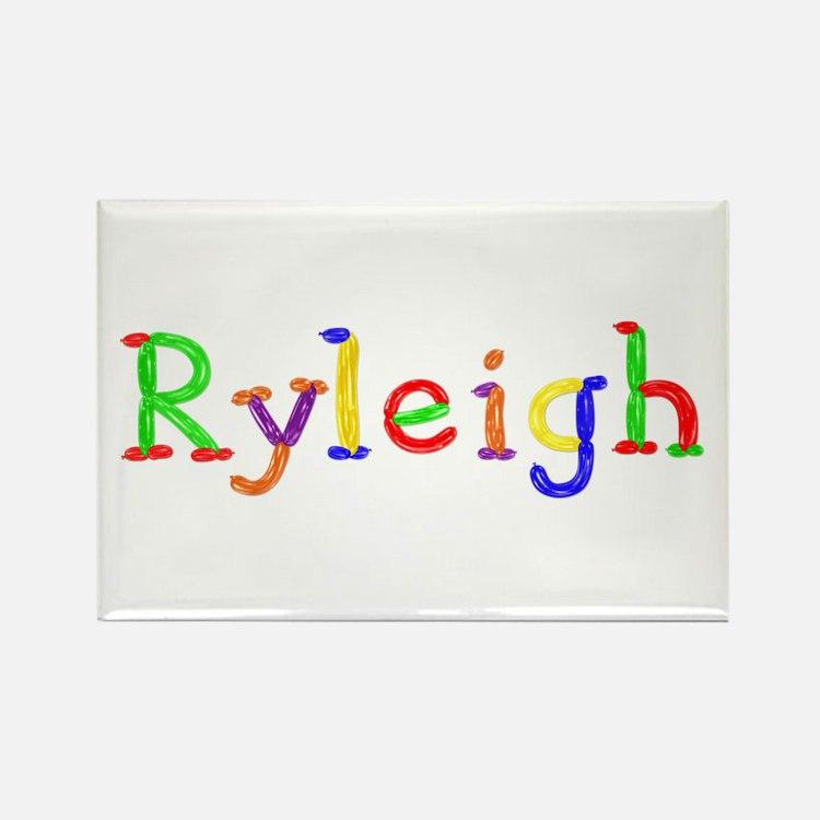 Ryleigh Balloons Rectangle Magnet