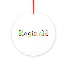 Reginald Balloons Round Ornament