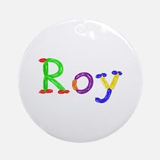 Roy Balloons Round Ornament