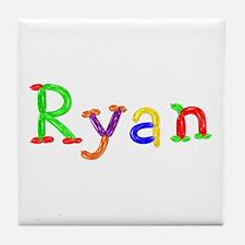 Ryan Balloons Tile Coaster