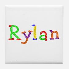 Rylan Balloons Tile Coaster