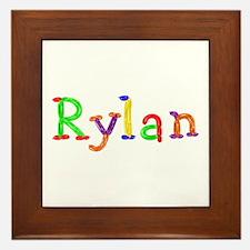 Rylan Balloons Framed Tile