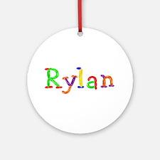 Rylan Balloons Round Ornament