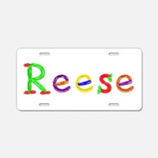 Reese Balloons Aluminum License Plate