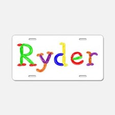 Ryder Balloons Aluminum License Plate