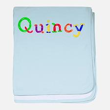 Quincy Balloons baby blanket