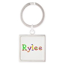 Rylee Balloons Square Keychain