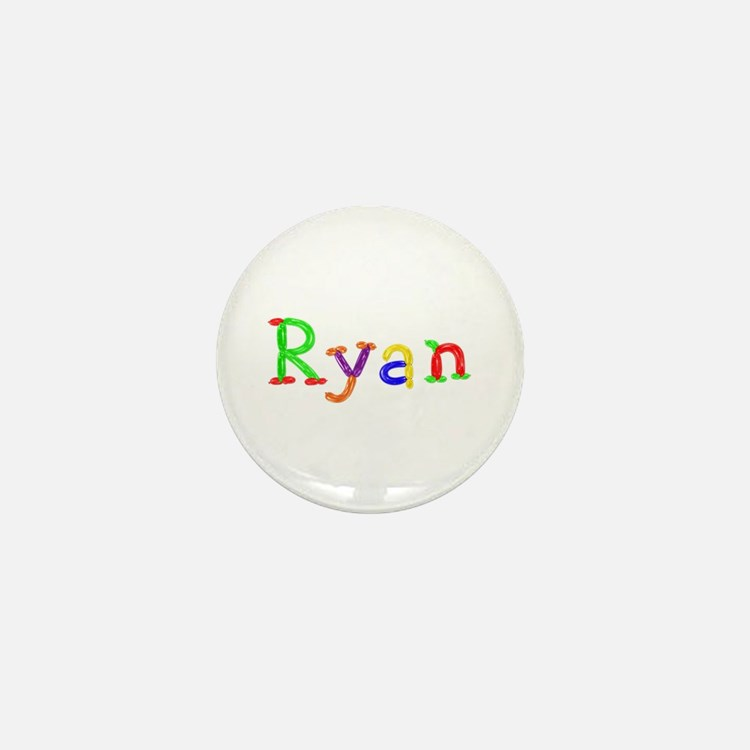 Ryan Balloons Mini Button