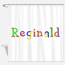 Reginald Balloons Shower Curtain