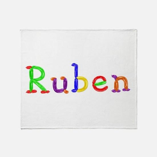 Ruben Balloons Throw Blanket