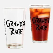 Thyroid Graves Rage Drinking Glass
