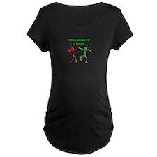 kungfu Maternity T-Shirt