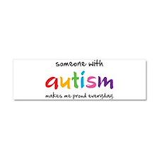 Proud Autism Car Magnet 10 x 3
