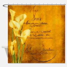 Unique Calla lily Shower Curtain