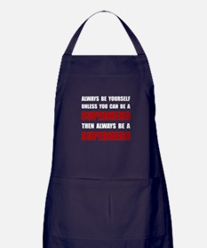 Be Superhero Apron (dark)
