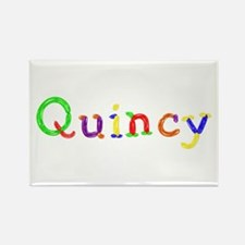 Quincy Balloons Rectangle Magnet